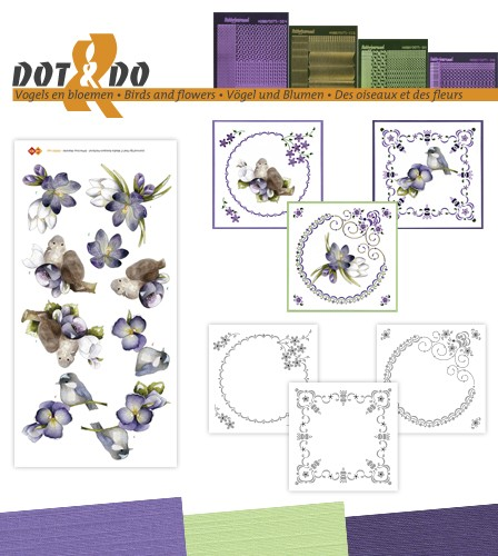 Dot & Do 32 - Vogels en bloemen