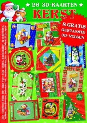 3D Kerstboek Studio Light