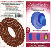 spellbinders petite scalloped ovals large