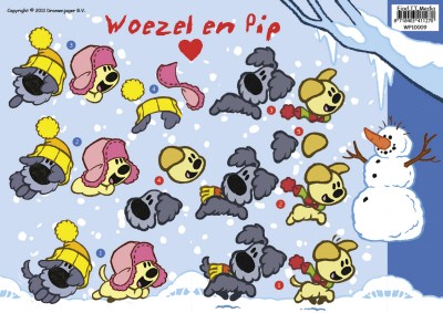 Woezel en Pip 10009 Winter