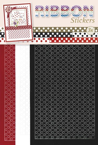 Ribbon Stickers Polka dots