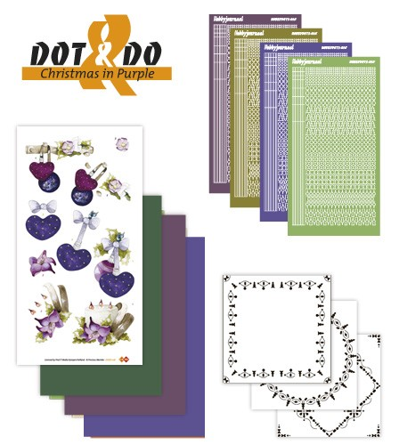 Dots & Do 16 - Christmas in Purple