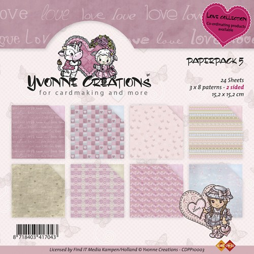 Yvonne Creations - Paperpack - Love