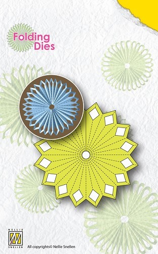 Nellies Folding Dies - Flower 2