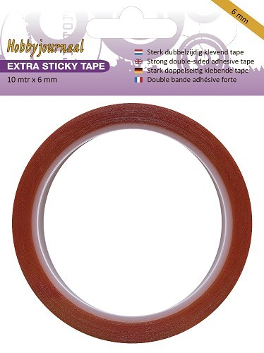 Extra sterke Tape 6 mm